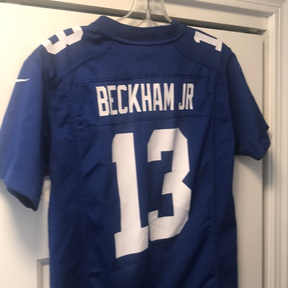 on sale 4eac5 6f32b Nike Odell Beckham NY Giants Jersey Youth Medium